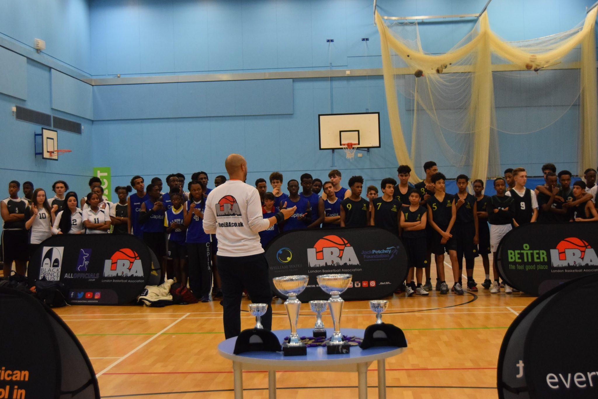 Brent School Tournament 2019 Cup presentation 2