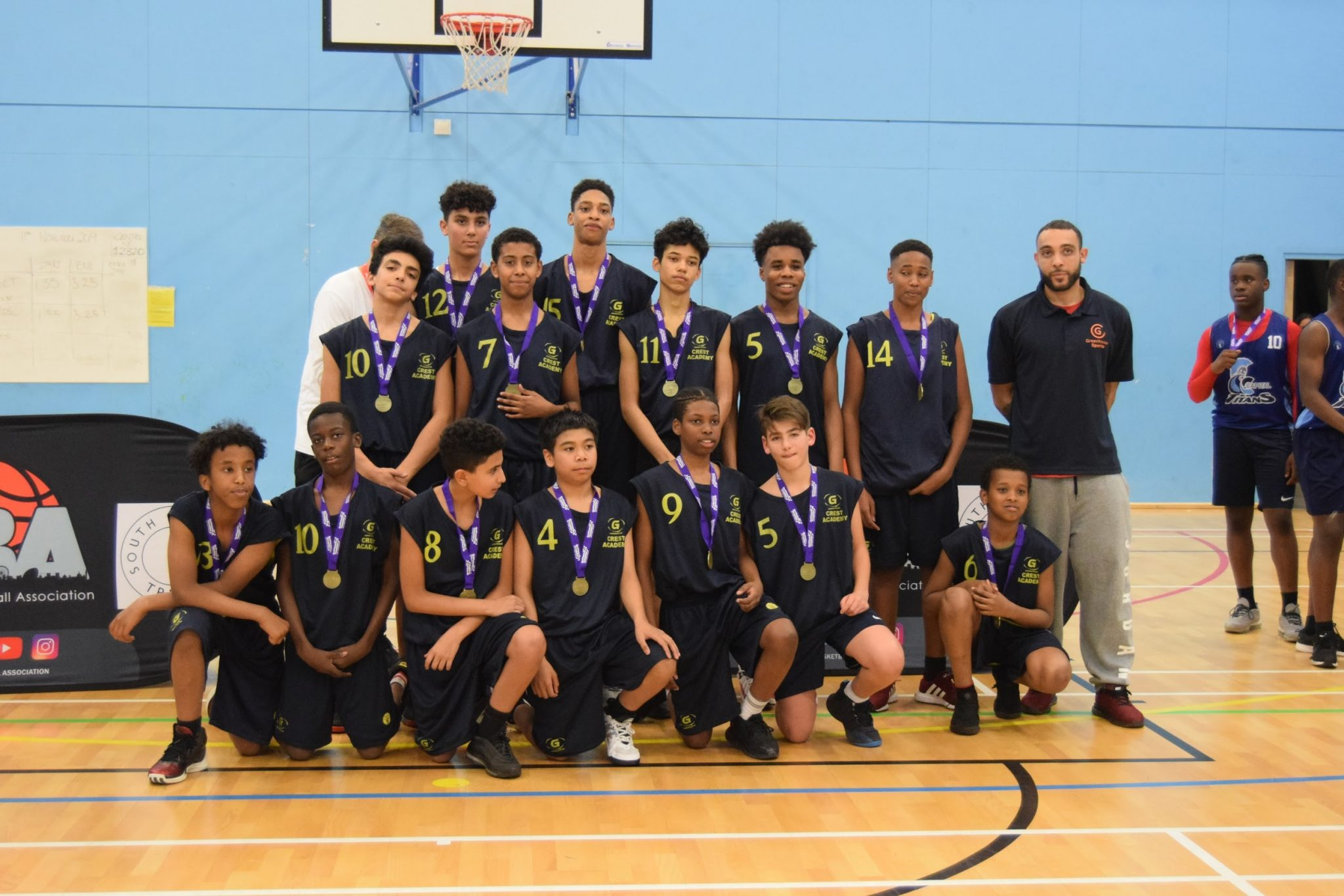 Brent U14 Boys Champions: Crest Academy