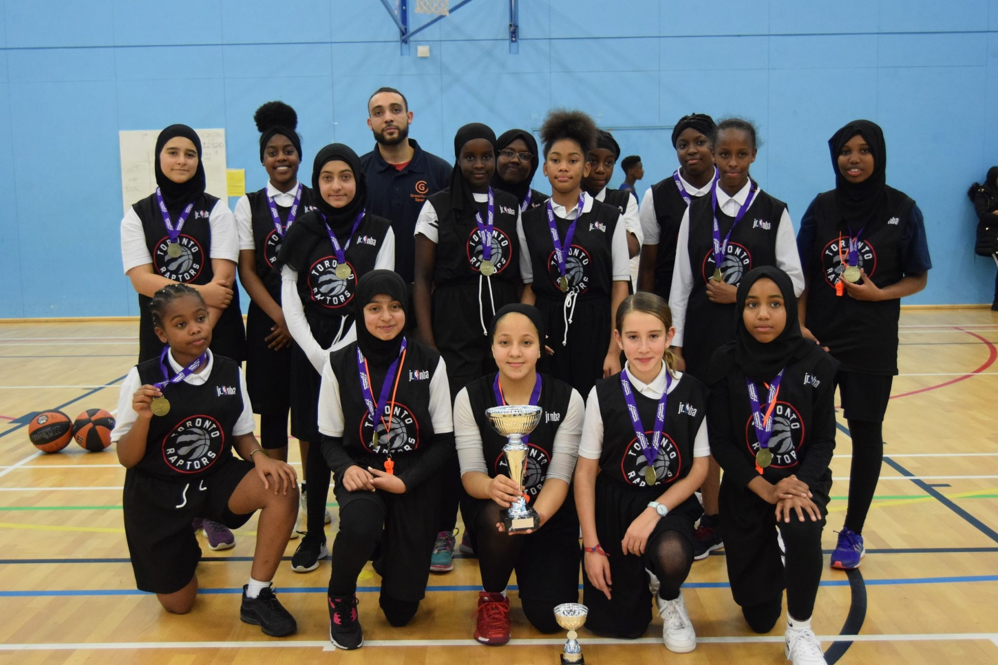 Brent U14 Girls Champions: Crest Academy