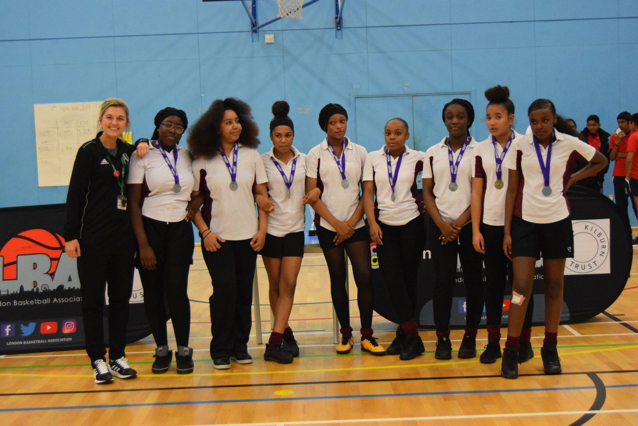 Brent U14 Girls Runner-up: Ark Academy