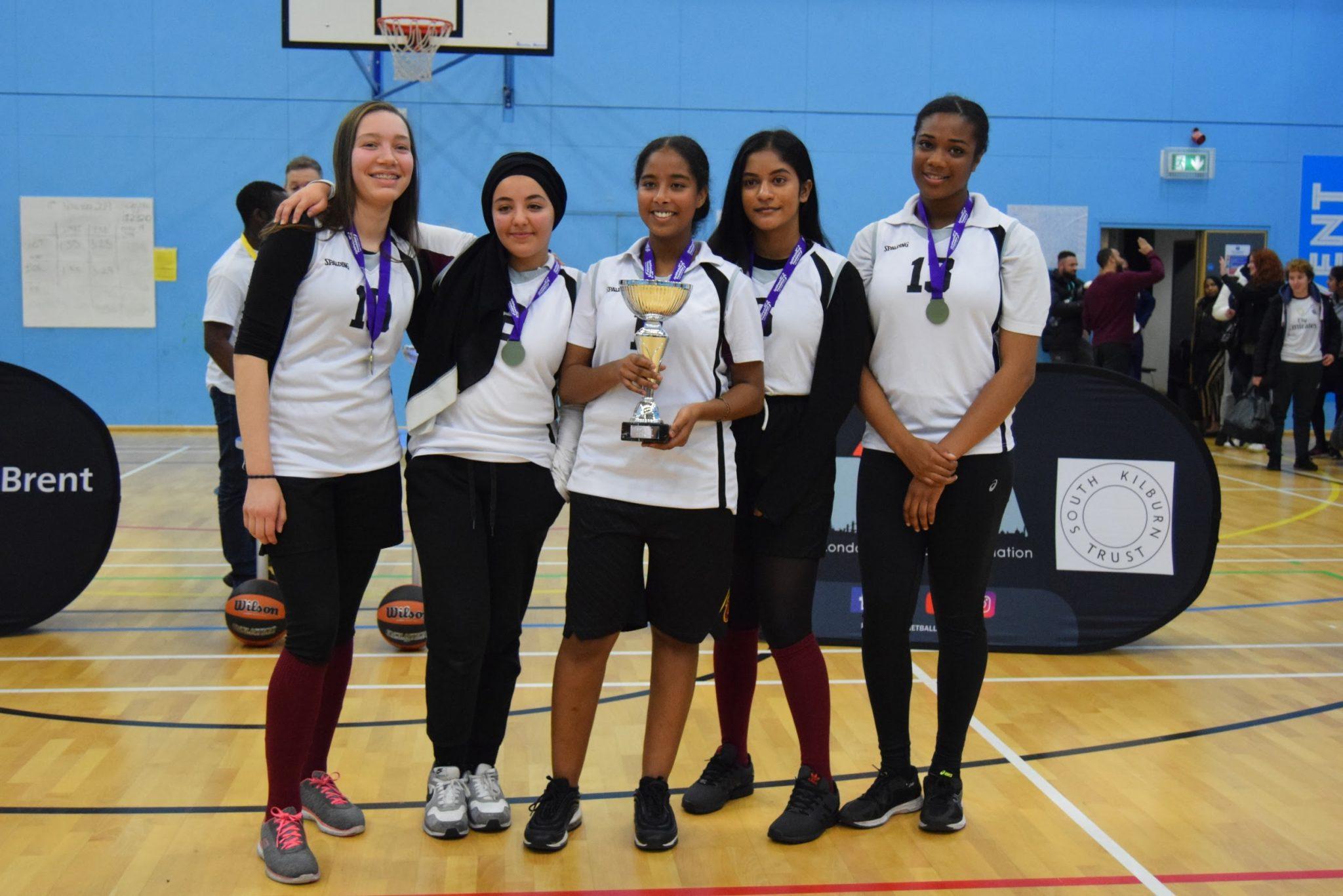Brent U16 Girls Champions: Ark Academy
