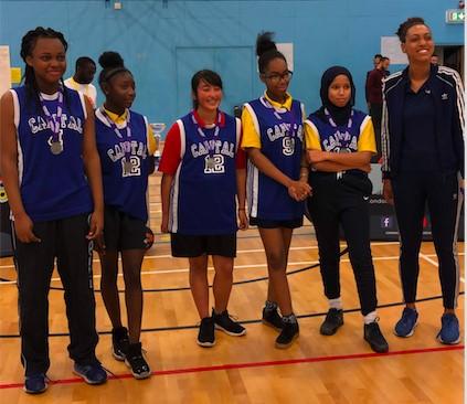 Brent U16 Girls Runner-up: Capital City Academy